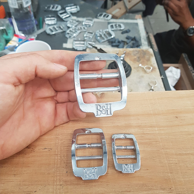 Pressed Metal Dog Collar Buckles