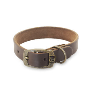 Bailey & Hound Plain Extra Small Leather Dog Collar